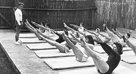 Lezione di Joseph Pilates