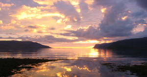 Islanda, sole di mezzanotte