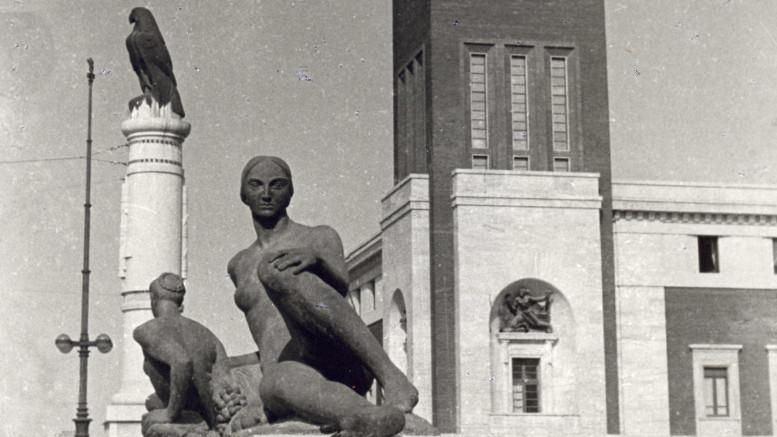 Statue D'Antino Ponte Littorio