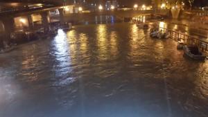 L'esondazione del fiume Pescara
