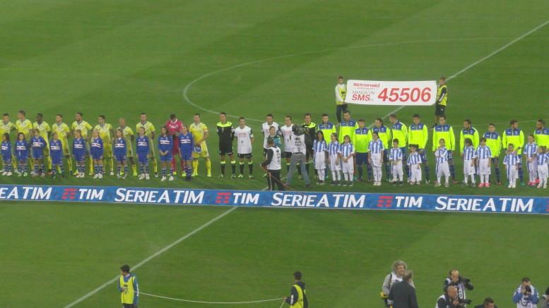 Pescara - Sampdoria nella partita di andata