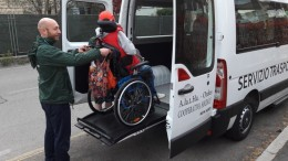 Trasporto disabili, rimborso spese per servizio