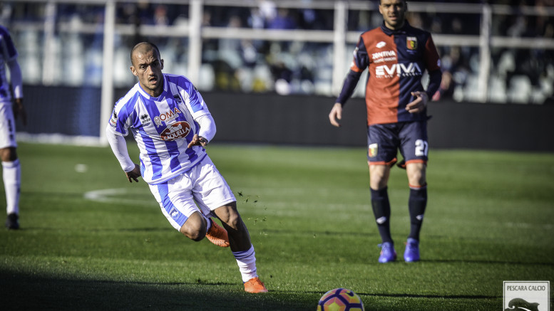 Ahmad Benalì, durante una partita