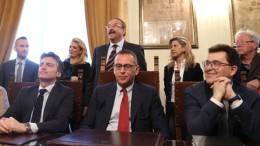 Avvicendamenti politici Blasioli vice sindaco, Pagnanelli presidente del consiglio