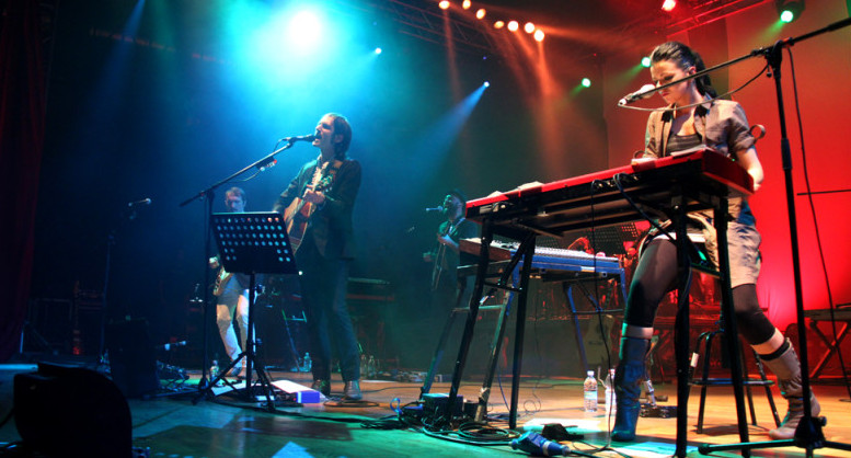 I Baustelle sul palco