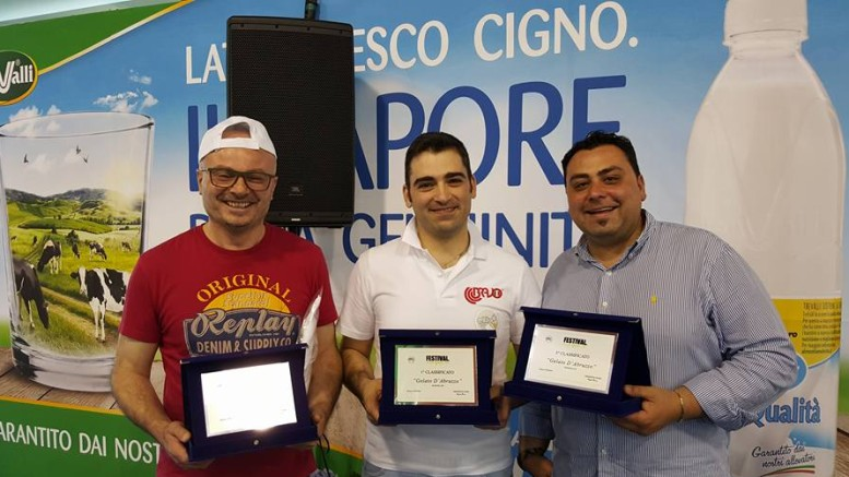 I vincitori dell'edizione 2016