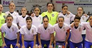 L'Italia femminile di futsal