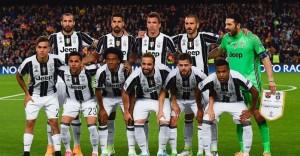 La formazione della Juve, che ha passato il turno in semifinale