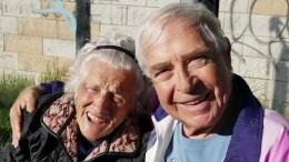 Nonna Irene con Domenico Logozzo