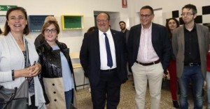 Inaugurato Lo Spaz con la consigliera comunale Santroni, l'assessore regionale Sclocco, il sottosegretario d'Abruzzo Mazzocca, il sindaco Alessandrini e l'assessore comunale Di Iacovo.jpg