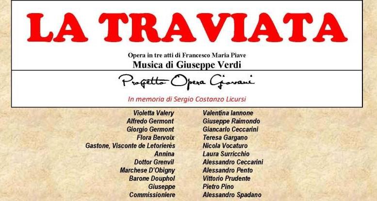 La grande lirica a Pescara con La Traviata
