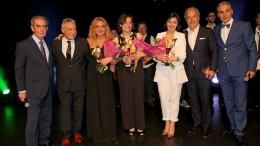 Proclamazione al festival della canzone italiana in Belgio