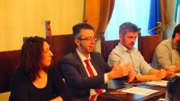 La conferenza stampa del Satyricom