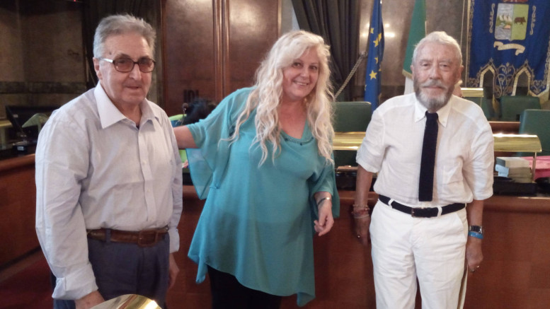 """DiGiovanni-Allegrino-DeAngelis al concorso concorso """"Le Novelle della città di Pescara"""""""