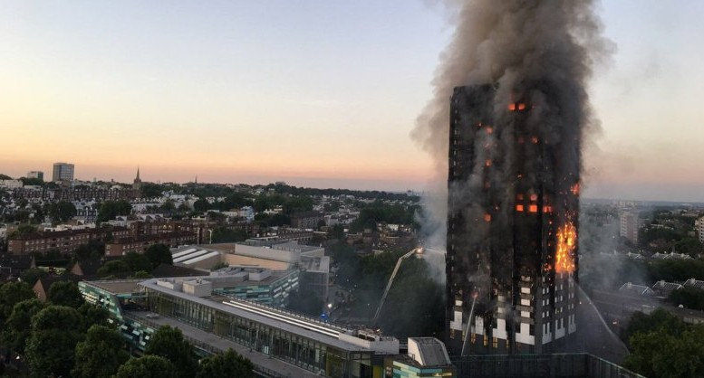 Grenfell Tower a Londra