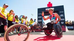Alex Zanardi, protagonista di Ironman 2017
