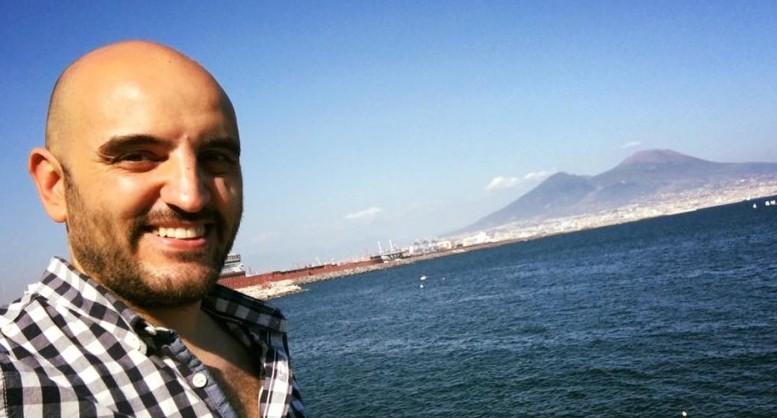 Lo scrittore/editore Alessio Masciulli