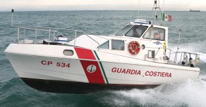 Guardia costiera di Pescara sequestra rete da posta abusiva con 70 kg di cefali