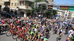 La partenza del Trofeo Matteotti