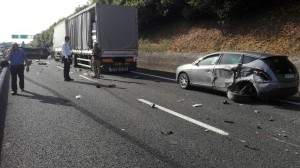 A14, incidente