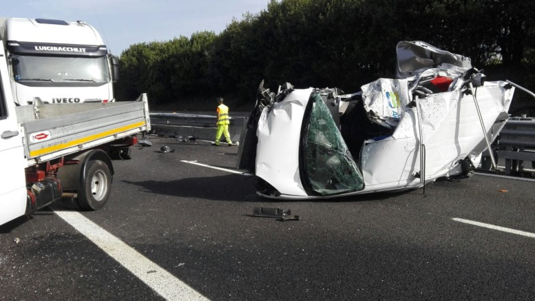 L'incidente sull'A14