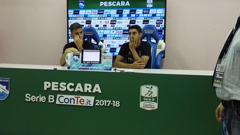 Stefano Pettinari e Gaston Brugman