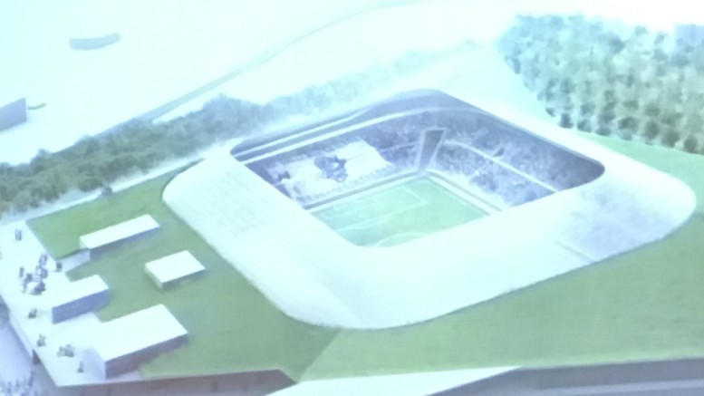 Il progetto preliminare del nuovo stadio del Pescara