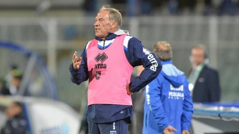 Il tecnico del Pescara, Zeman