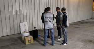 Polizia Municipale in azione a Pescara per operazione antidegrado