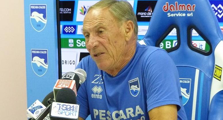 Zeman, tecnico del Pescara
