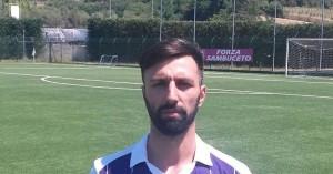 Sambuceto calcio. Massimiliano Tuzi