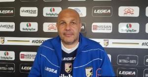 Bruno Tedino, tecnico del Palermo