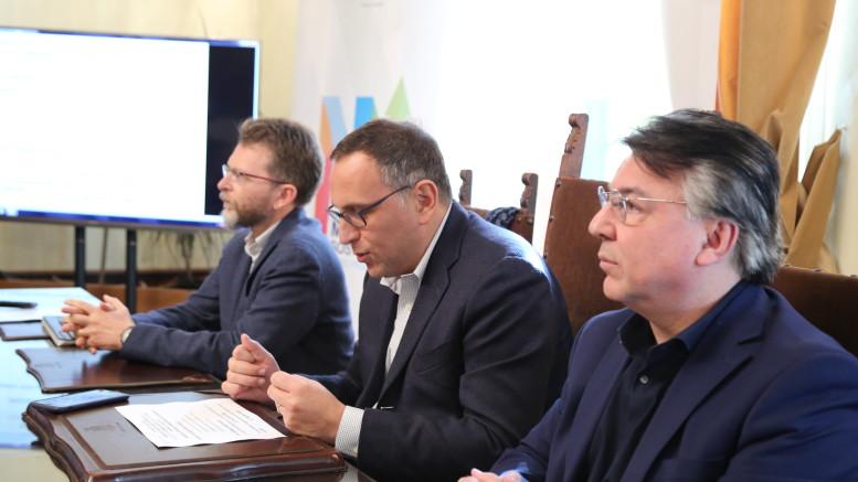 Conferenza stampa di presentazione di Sviluppo Urbano