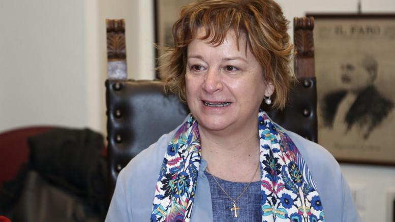 Antonella Sanvitale, preside dell'Istituto Aterno Manthone