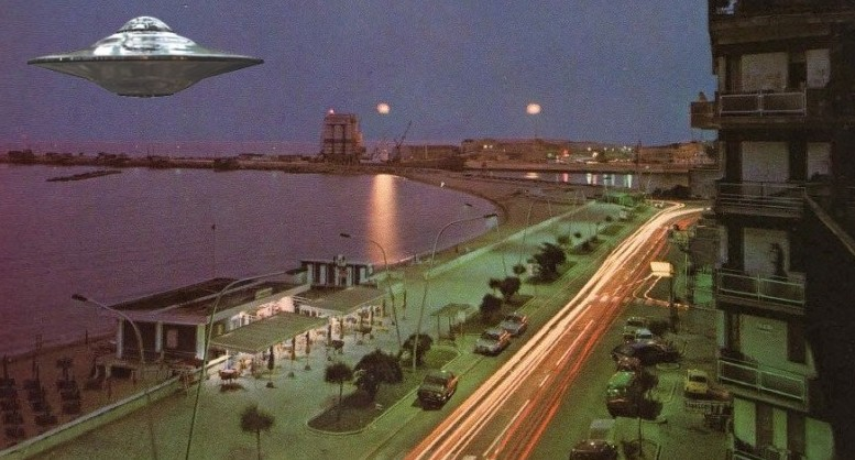 Gli UFO a Pescara nel 1978 - Ricostruzione