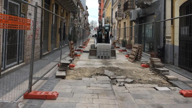 Corso Manthonè, lavori