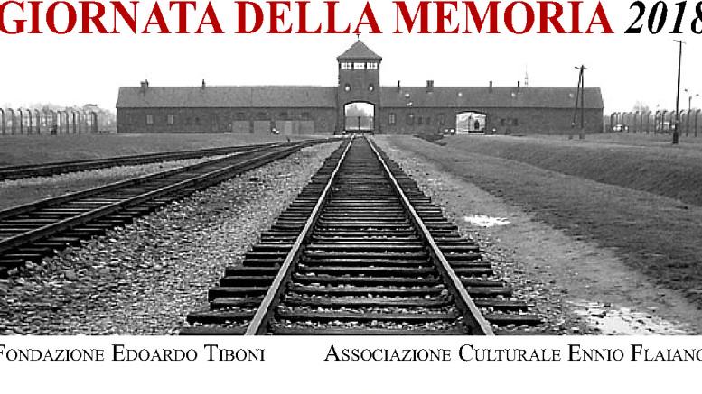 Locandina Giornata della Memoria 2018