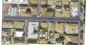la piantina dei parcheggi