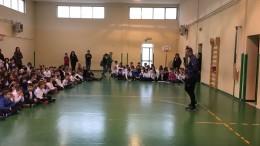 Il portiere Mammarella incontra gli studenti