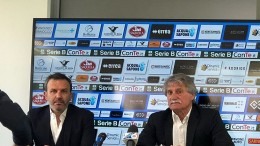Giuseppe Pillon insieme con il DS Leone
