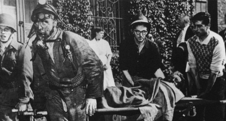 La tragedia di Marcinelle: i soccorsi