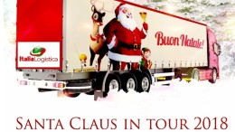 Santa Claus in Tour