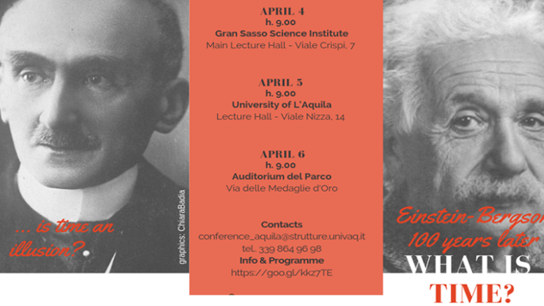 "Convegno ""What is time? Einstein-Bergson 100 years later"""