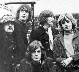 I Pink Floyd nel gennaio del 1968