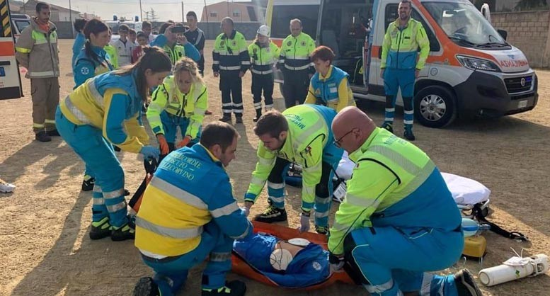 misericordia Pescara corso primo soccorso